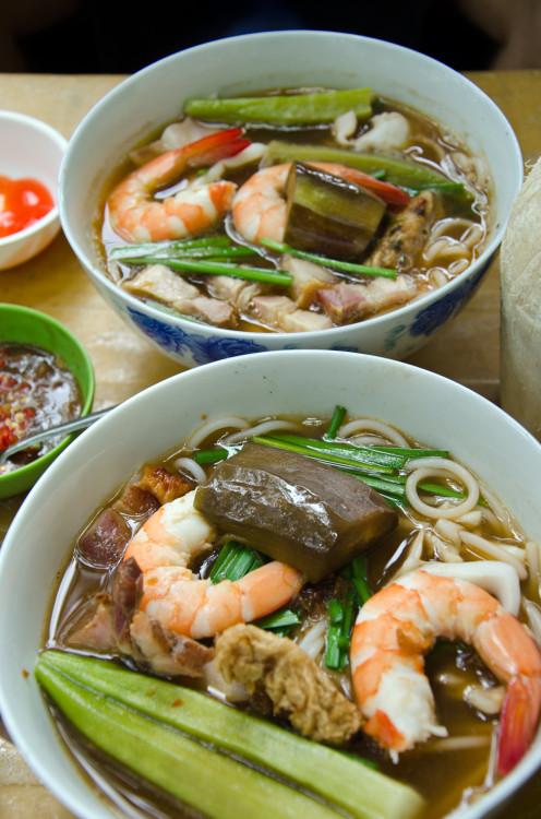 prawn okra soup. www.foodandthefabulous.com