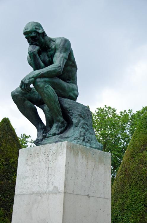 Thinking Man, Rodin Museum