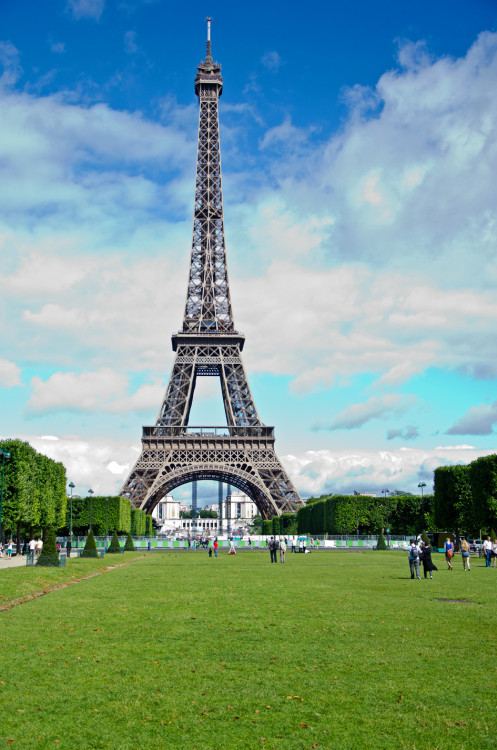 The iconoclastic Eiffel Tower