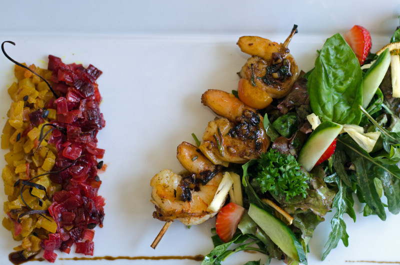 Rhum infused menu
