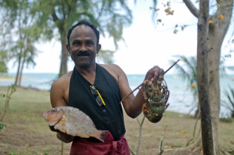 Fisherman, south Mauritius