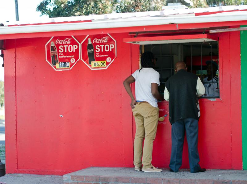 spaza shop, Langa