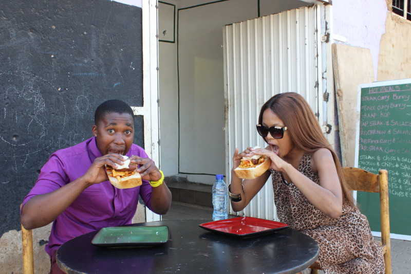 Katlego Mlambo and Lerato Kganyago