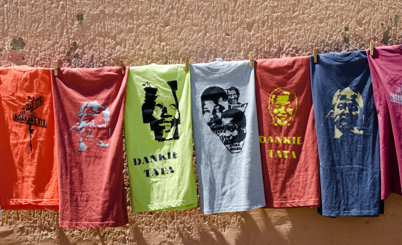 T-shirts for sale In Soweto