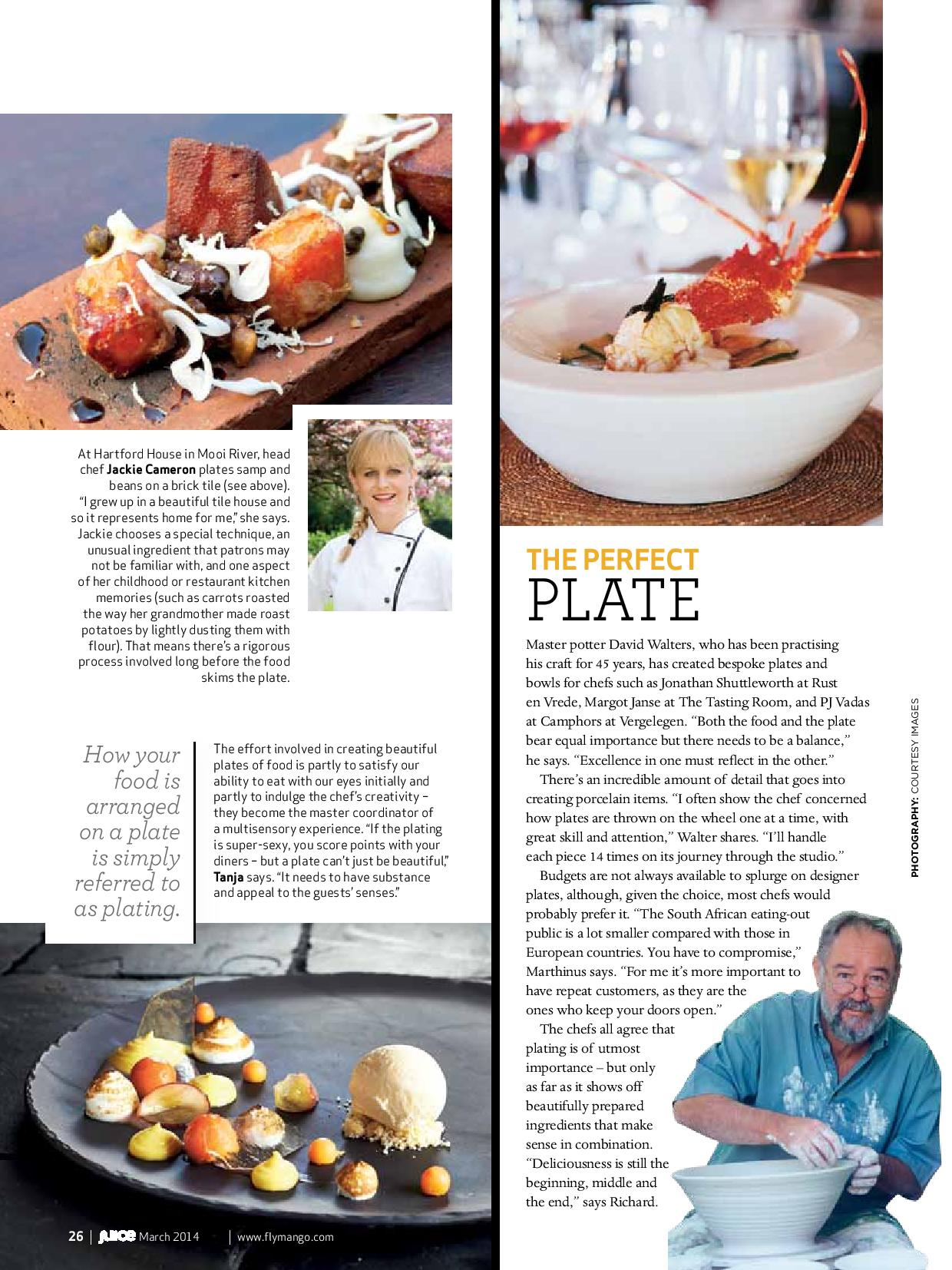 The Art of Plating | Food and the Fabulous