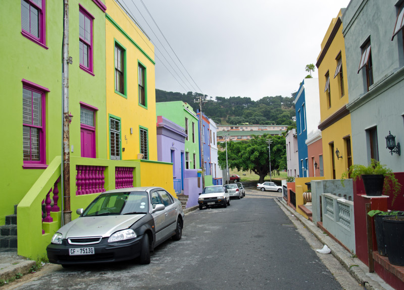 Bo Kaap colourful