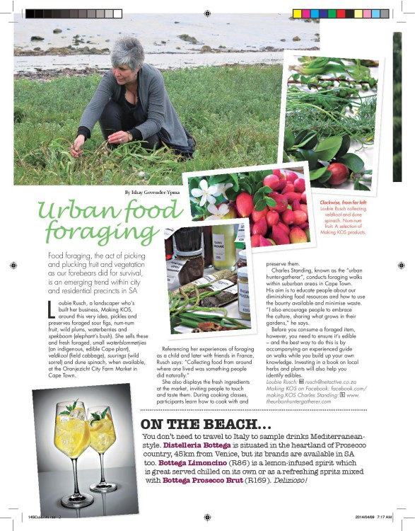 urban food foraging