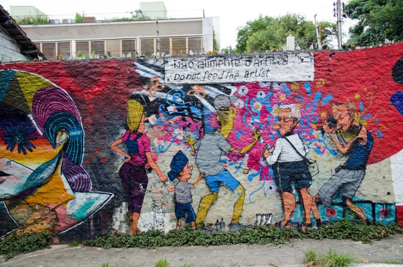 street art Vila Madelana