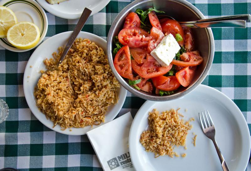 ripe Cyprus tomatoes