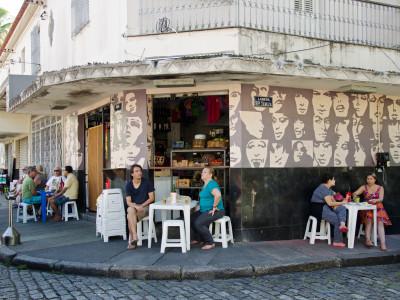 a bar in Santa Teresa, Rio