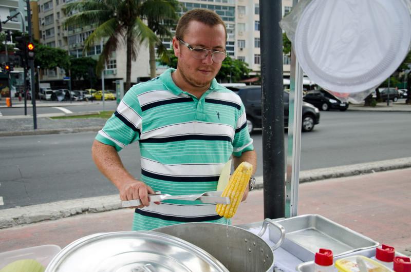 corn on the beach - Rio