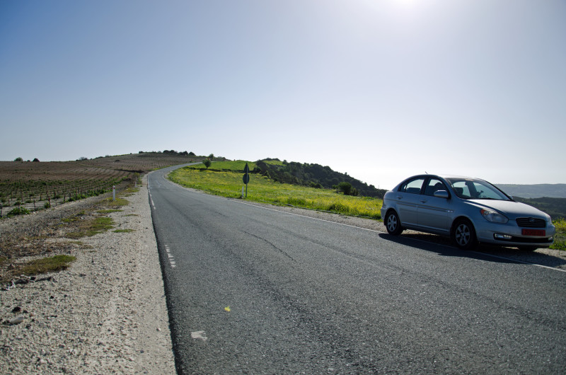 open roads, perfect to drive