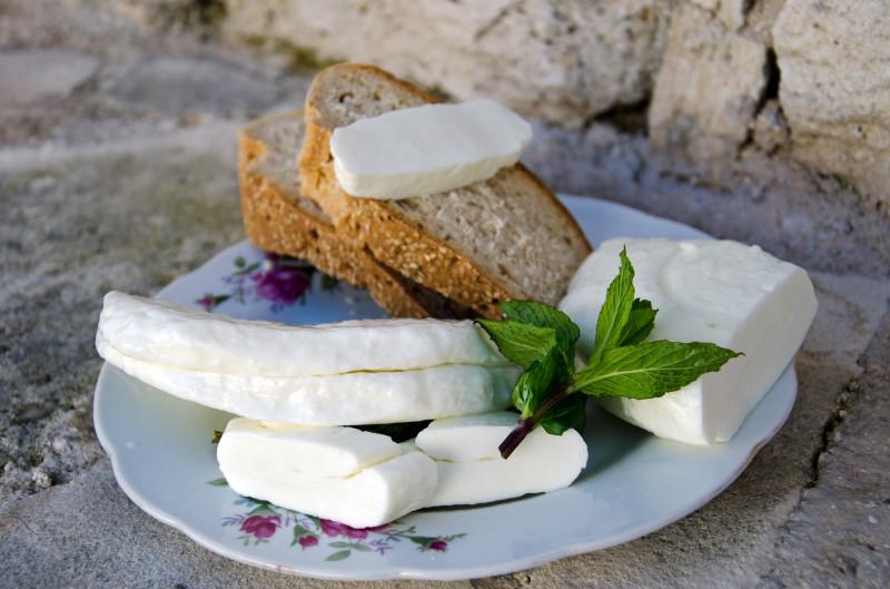 famous halloumi cheese