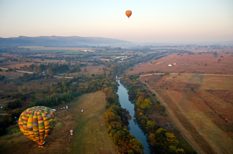 hot air balloon, Magaliesburg