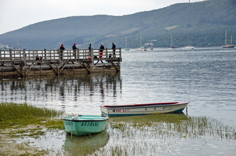 little boats, Knysna