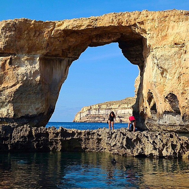 Azure window, another view #Gozo #loveMalta #travel