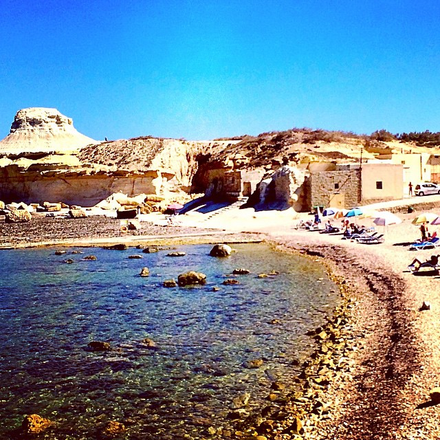 Xwenji Bay in Gozo. Arrived here by Segway. With @budgettraveller & @voyageavecnous #maltaismore #travel #seaside