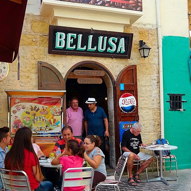 Local's fave cafe in Gozo