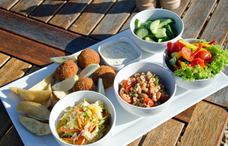 lunch tapas at Gondwana