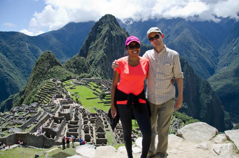 from the caretaker's hut: Machu Picchu