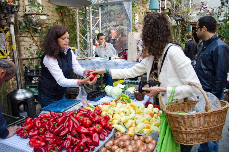 organic markets Budapest