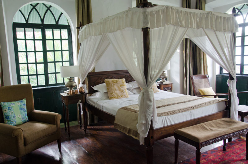 chracterful rooms at Siolim House