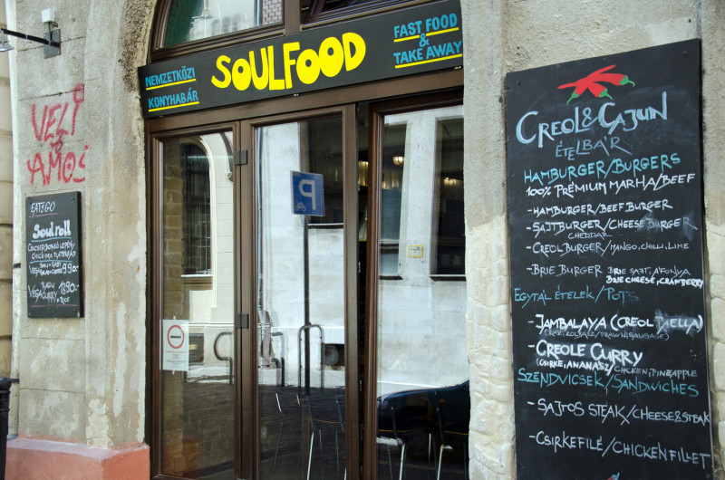 Eclectic food offerings in Budapest
