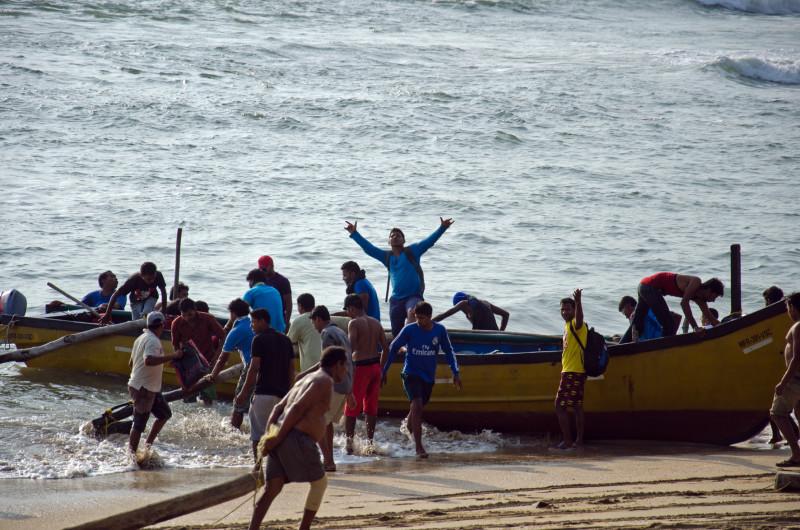 team work on the beaches