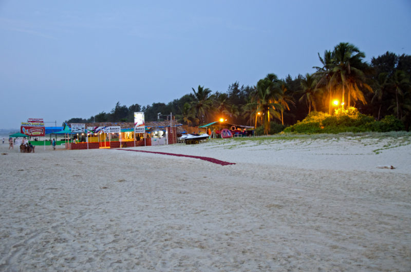 Goan nights on the beach
