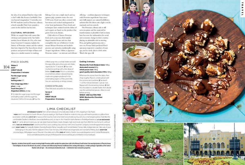 LIMA Taste magazine