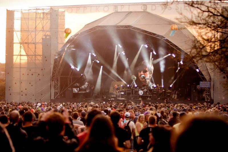 Oppikoppi festival. Courtesy image by Derius Erasmus
