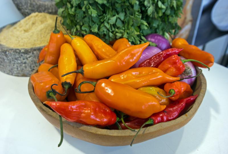 Peruvian chilli peppers