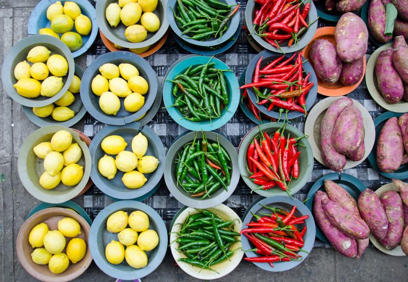 colourful produce