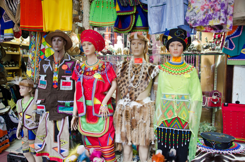 colourful dress Durban, Victoria Market