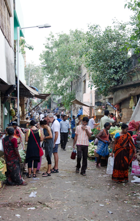 busy markets Madras