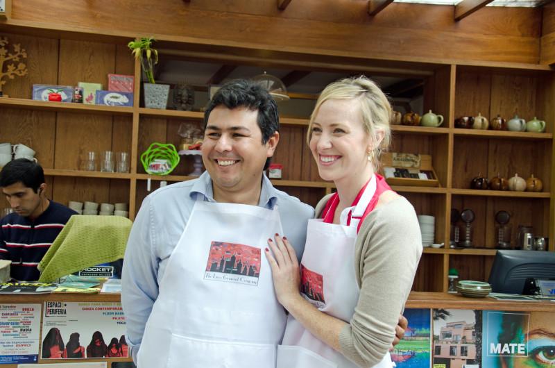 Samatha and Lucas - Lima Gourmet Company