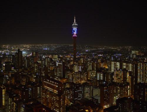 Bright Lights, Vibrant City. Walking Johannesburg