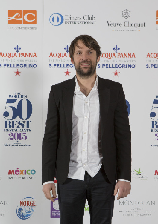 20150601 © The WorldÕs 50 Best Restaurants 2015, sponsored by S.Pellegrino & Acqua Panna, and onEdition Photography, the official photographers for 2015 Rene Redzepi, Noma at The WorldÕs 50 Best Restaurants, sponsored by S.Pellegrino and Acqua Panna. Rene Redzepi a.k.a Taco Guy