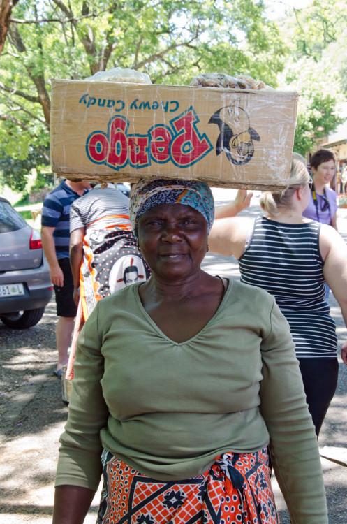 Pilgrim's Rest vendor