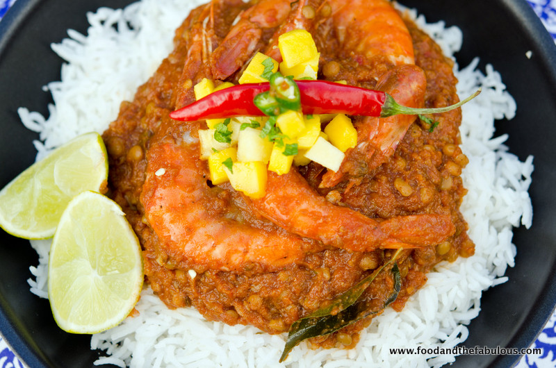 The durban curry ishay govender prawn dhansak a parsi curry from zanzibar forumfinder Images