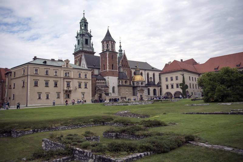Wawel castle. Krakow