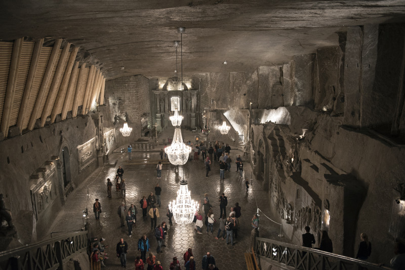 Cathedral at Salt Mines, Wieliczka