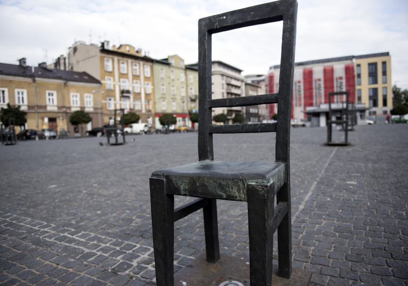 65 chair memorial in Krakow