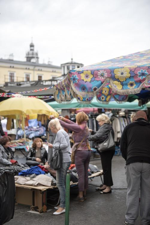 fleamarket, Krakow