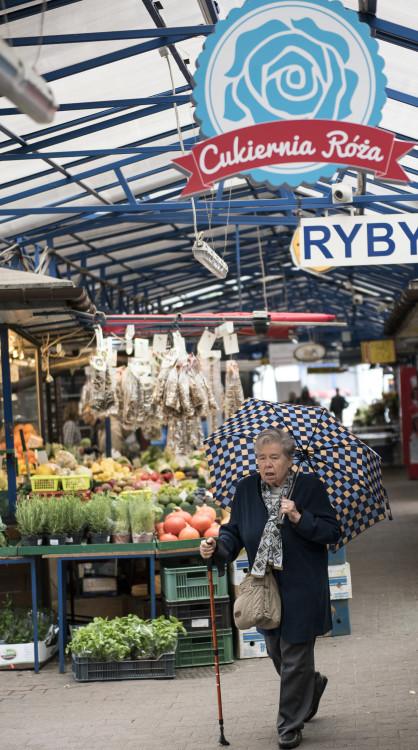 produce market Krakow