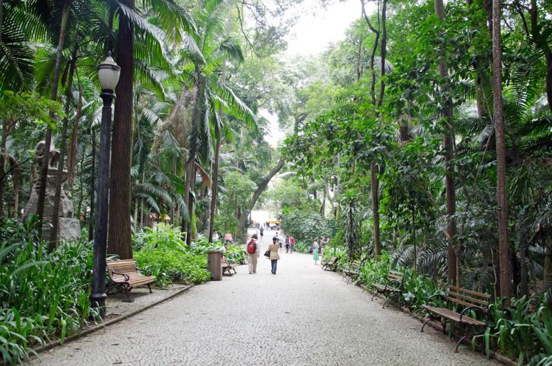 Jardin Paulista garden