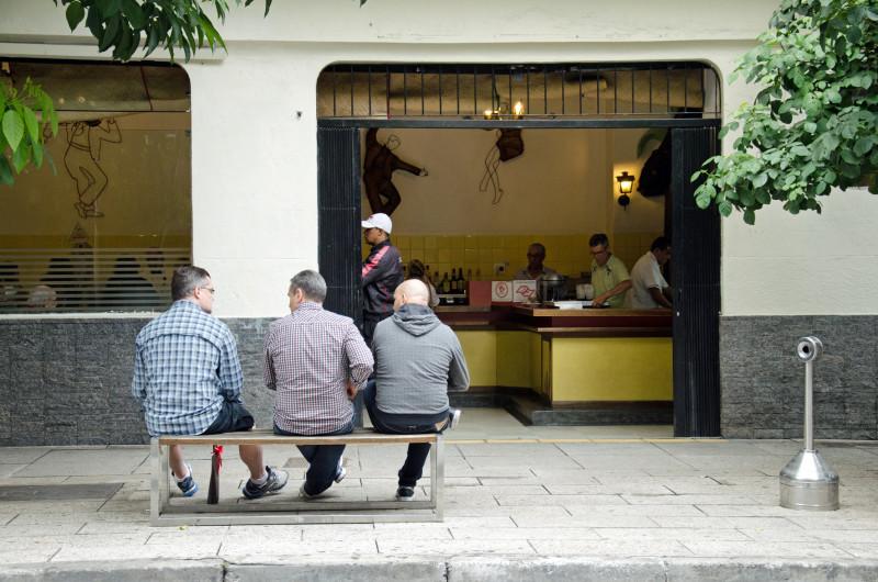 patrons oscar freire street