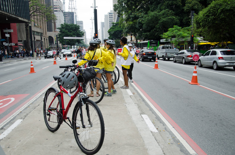 Sunday biking Sao Paulo