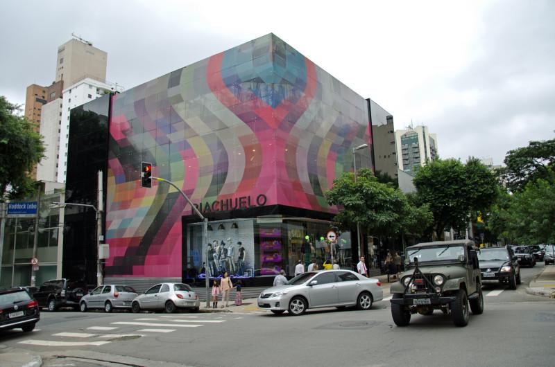 street art oscar freire street