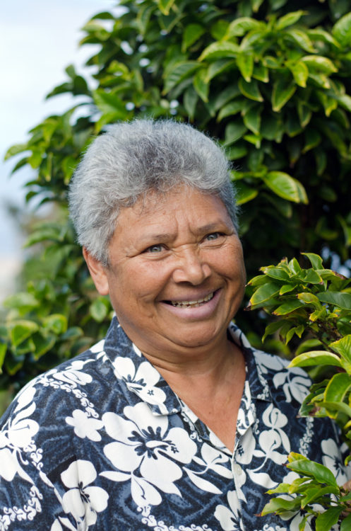 Maximilia Vitry, coffee grower